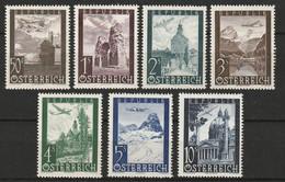 Österreich, Austria  1947 Mi. 822-828 MNH ** - 1945-60 Neufs