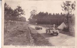 72-LE MANS CIRCUIT DES 24 HEURES VOITURES EN COURSE - Le Mans
