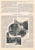 840 Brockenbahn Brocken Bahnhof Bergbahn Artikel Mit Bildern 1899 !! - Railway