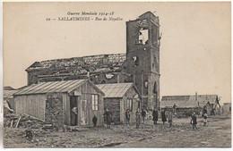 62 Guerre 14-18 : SALLAUMINES  Rue De Noyelles - Otros Municipios