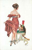 ILLUSTRATEUR  Hérouard  (edition Lapina)  Femme , Charme , Apres Marengo - Other Illustrators