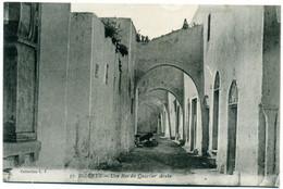( BIZERTE   )( TUNISIE   ) UNE RUE DU QUARTIER ARABE - Tunesië