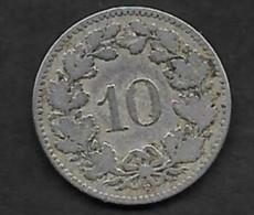 10 Rappen 1880 B - Schweiz
