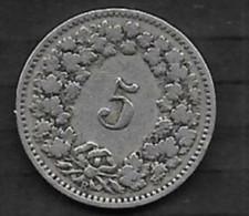 5 Rappen 1901 B - Schweiz