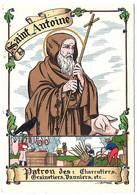 Barré Dayez 3 Cpa Saints Pierre Antoine Maurice Albert  Illustrateur 1945 état Superbe - Andere Illustrators