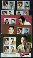 ST. VINCENT 1987 ELVIS PRESLEY MI No 1034-41 BLOCK 45-6+48 MNH VF!! - Elvis Presley