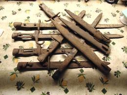 7 Baionettes Et 3 Fourreaux 14/18 De Fouille - 1914-18