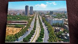CPSM TEHERAN IRAN BOULEVARD ED ROTALCOLOR - Iran