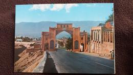 CPSM SHIRAZ IRAN AN IMPRESSIONIST VIEW OF KORAN GATE  ED ROTALCOLOR - Iran