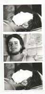Photographies Homme Masque De Platre Lot 3 Photos , Photo 12,7x9 Cm Env - Personnes Anonymes