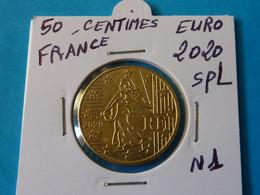 50 CENTIMES  EURO  FRANCE 2020 Spl - Ref  N 1  ( 2 Photos ) - France