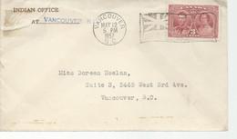23036) Canada Slogan Postmark Cancel Vancouver 1937 - Brieven En Documenten