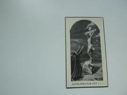 Doodsprentje  (7650 )  Vercruysse  /  De Souter      -   Brugge          1939 - Avvisi Di Necrologio