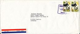 Costa Rica Cover Sent Air Mail To Germany - Costa Rica