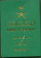 Saudi Arabia Passport MRP Issue From Tabouk - No Visa - Documentos Históricos
