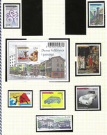 ANDORRE  N° 734 à 747  NEUF** LUXE  MNH   ANNEE  2013  MANQUE N° 745 - Nuevos