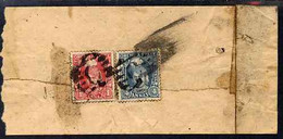 Indian States - Orcha 1940's Registered Native Cover Bearing 1a & 4a, SG 34 & 40 Cat £28 X 4 + £20 - Unclassified