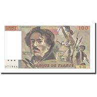France, 100 Francs, Delacroix, 1979, SPL+, Fayette:69.2c, KM:154a - 100 F 1978-1995 ''Delacroix''