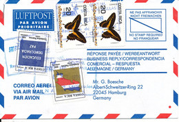 Costa Rica Registered Air Mail Cover Sent To Germany 6-10-1999 - Costa Rica