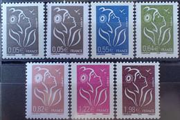 2992 - 2005 - TYPE MARIANNE DE LAMOUCHE - SERIE COMPLETE - N°3754 à 3759 NEUFS** - 2004-08 Marianna Di Lamouche