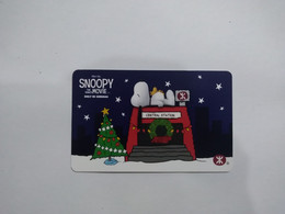 Hong Kong Transport Cards, Snoopy, Movie ,(1pcs,sample) - Non Classificati
