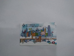 Hong Kong Transport Cards, (1pcs) - Unclassified