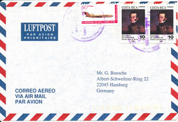Costa Rica Air Mail Cover Sent To Germany 1996 - Costa Rica