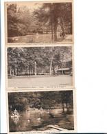 $ PORT FRANCE GRATUIT $ Lot De 3 Cpa : 58 - POUGUES LES EAUX Le Parc, Vue Du Lac - Pougues Les Eaux
