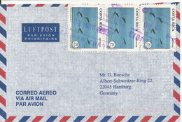 Costa Rica Air Mail Cover Sent To Germany 9-5-1996 - Costa Rica