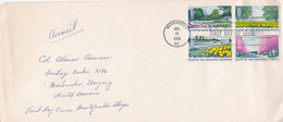 USA. PLANT FOR MORE BEAUTIFUL HIGHWAYS. 1969, FDC ENVELOPE. PLANTES PLANTAS.- LILHU - Ohne Zuordnung