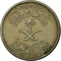Monnaie, Saudi Arabia, UNITED KINGDOMS, 10 Halala, 2 Ghirsh, 1972/AH1392, TB+ - Saudi Arabia