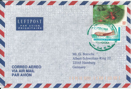Costa Rica Air Mail Cover Sent To Germany 1999 - Costa Rica