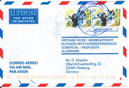 Costa Rica Air Mail Cover Sent To Germany 24-7-2000 - Costa Rica