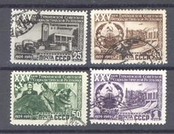 Ru0  -  Russie  :  Yv  1440-43  (o) - Gebruikt