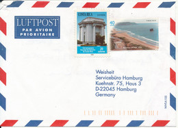 Costa Rica Air Mail Cover Sent To Germany No Postmarks On Stammps Or Cover - Costa Rica