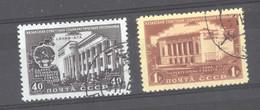 Ru0  -  Russie  :  Yv  1521-22  (o) - Gebruikt