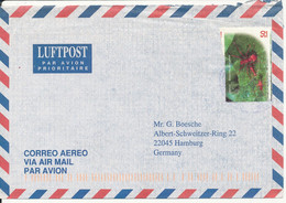 Costa Rica Air Mail Cover Sent To Germany Single Franked - Costa Rica