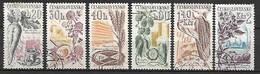 TCHECOSLOVAQUIE    -  1961.   Y&T N° 1165 à 1170 Oblitérés.   Légumes.    Série Complète. - Gebraucht
