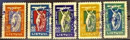 LITHUANIA 1921 - Canceled - Sc# C8-C12 - Lithuania