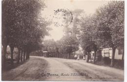 DE PANNE - LA PANNE -1913 - Route D' Adinkerke - TRAM - 56 Musica La Panne S/m - De Panne