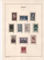 1957 Repubblica Annata  Completa Come Da 2 Foto MLH - 1946-60: Mint/hinged