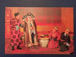 Old Postcard Mongolia  - State Drama Theater, National Costume 1970s - Mongolia