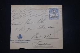 ESPAGNE - Devant D'enveloppe De Madrid Pour La France En 1920 - L 100242 - Cartas