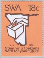 SWA 0602-05  ** Cote : 4,00 € - Incitation Au Vote - Nuovi