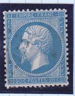 Napoleon  N° 22,GC ,cote 2€ ( 2105/B045) - 1862 Napoléon III.