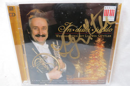 "2 CDs ""Ludwig Güttler"" In Dulci Jubilo, Weihnachten Mit Ludwig Güttler, Signierte CD-Hülle - Canzoni Di Natale"