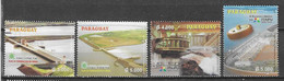 Paraguay 2004/5 Itaipu Hydro Power 2 Sets Complete MNH ** - Paraguay