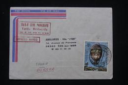 PARAGUAY - Enveloppe Pour La France Par Avion, Affranchissement Montgolfière - L 100254 - Paraguay