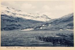 Cartolina - Moncenisio - Il Lago - 1930 Ca. - Sin Clasificación