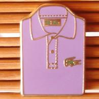 Joli Pin's Polo Lacoste Roland Garros, Arthus Bertrand, TBQ, Pins Pin. - Arthus Bertrand